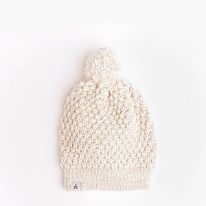 Fair Trade Natural Mabel Pom Beanie